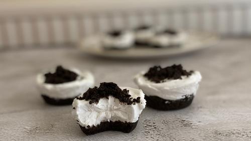 No bake Oreo cupcakes