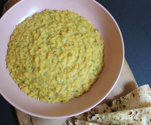 Red split lentils - dhal