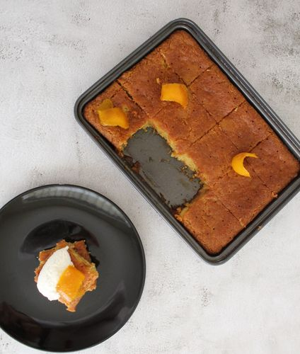 Orange zesty cake