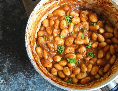 Spanish inspired beans