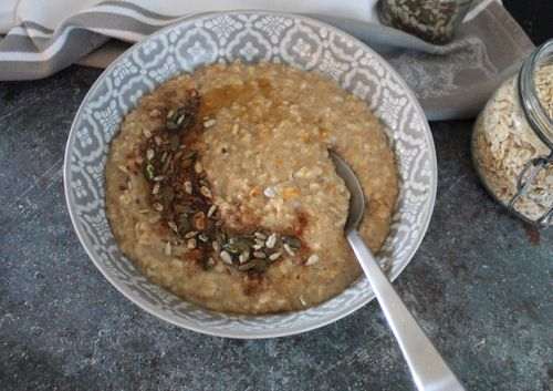 Sweet potato porridge